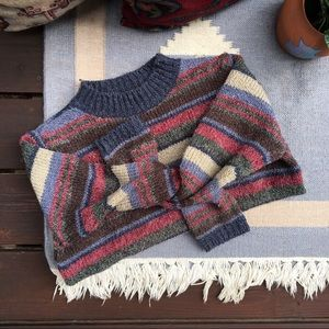 Vintage 90s Oversize Cozy Knit Sweater